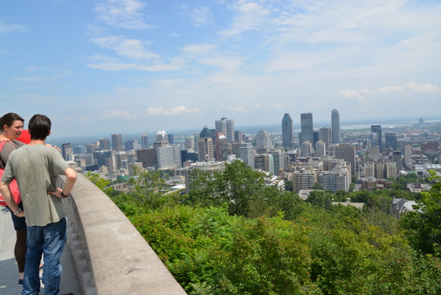 how to go on mont-royal