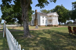 The Will Rogers Birthplace near Oologah, OK.