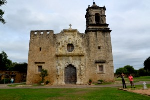 Mission Concepcion is the most preserved of the five missions and is located several miles from downtown San Antonio. Catholic Mass is held here each Sunday morning and according to a tour guide, those attending are descendants from original settlers here in the 1740's..