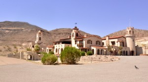 Scotty's Castle, also known as Death Valley Ranch, was a desert getaway mansion of Chicago insurance magnate Albert Johnson and his wife Bessie. It was constructed in 1925.