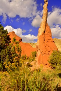 One of 67 spires in Kodachrome State Park near Bryce Canyon, in southwestern Utah.