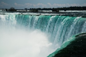 Horseshoe Falls from the Canadian side.