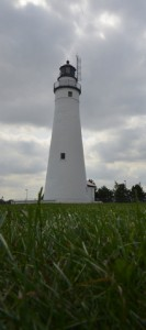 The oldest lighthouse on Port Huron was built in 1825. Fort Gratiot Lighthouse is located near the Blue Water Bridge that connects Michigan with Ontario, Canada.