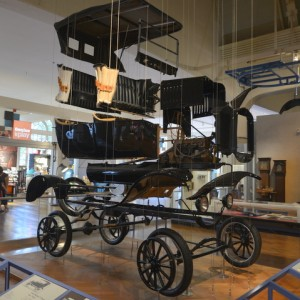 The assembly of a Ford Model T