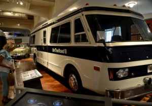The motorhome Charles Kuralt used to travel the country for his popular television news report.