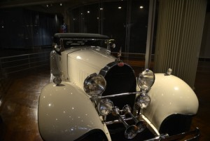 This Bugatti Royale was one of six cars made and is on display at the Henry Ford Museum.