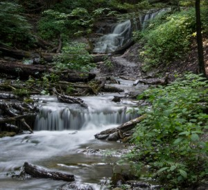 Weaver Falls is located within Harrison Park in Owen Sound. The falls are impressive along with the short walk through the woods to reach the falls.