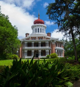Longwood Mansion is one of three Civil War era mansions in Natchez, MS., open for tours to the public.