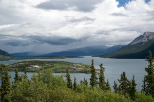 Dove Island and Windy Arm, a tributary off Tagish Lake, was a nice rest stop on the road from Skagway, AK to Carcross and Teslin.