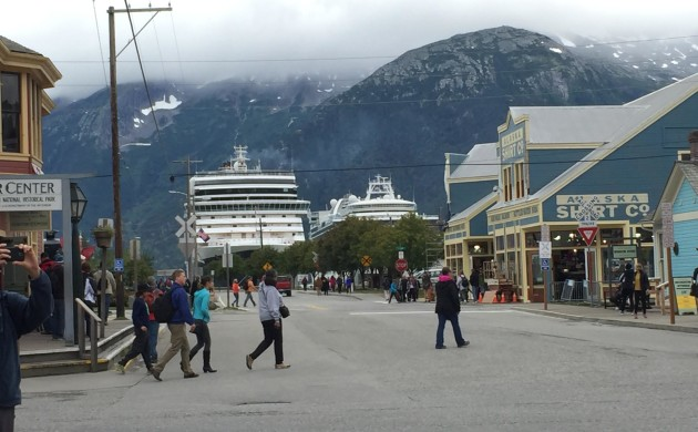 Taking the Marine Highway to Skagway