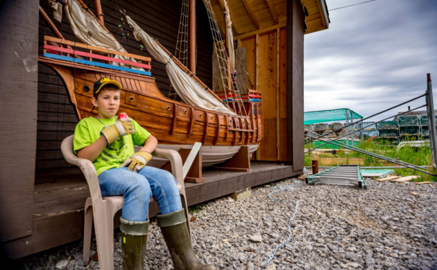 Getting to know the locals in Port au Choix, Newfoundland