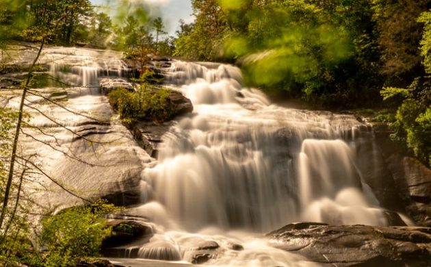 Cooler weather in NC and waterfalls galore.