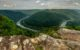 Viewing the New River from Grandview Overlook